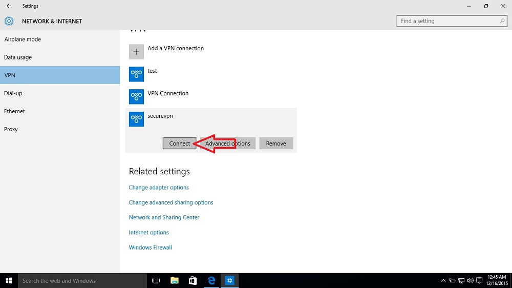VPN Connection issue in Windows 10 Life On Network
