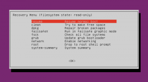 How to log in to recovery mode in Ubuntu