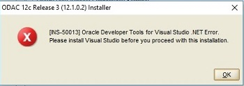 Odac 12c Release 3 And Oracle Developer Tools For Visual