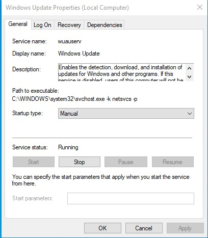 Setup metered Internet Connection in Windows 10