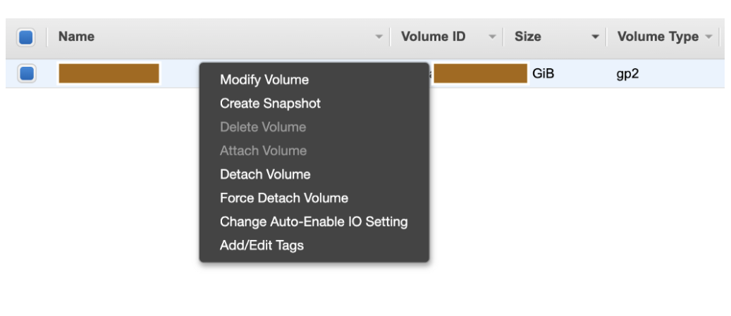 Extend the size of EBS volume in your EC2 instance
