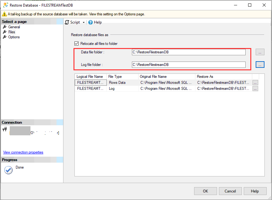How to Recover SQL Server FILESTREAM Enabled Database