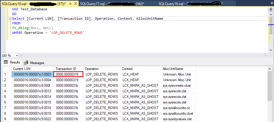 How to Recover Deleted Records in SQL Server 2019