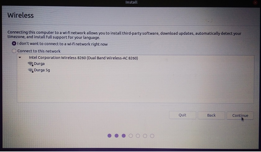 Step by step screenshot of how to install ubuntu 20.04