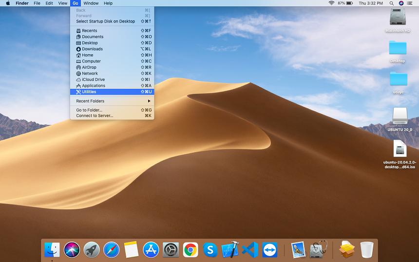 How to create a ubuntu bootable usb stick on MAC osx